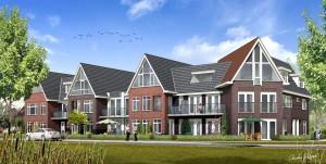 Bergentheim - 15 appartementen Slotstaete