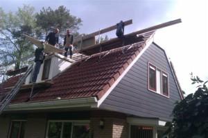 werkzaamheden optoppen dak