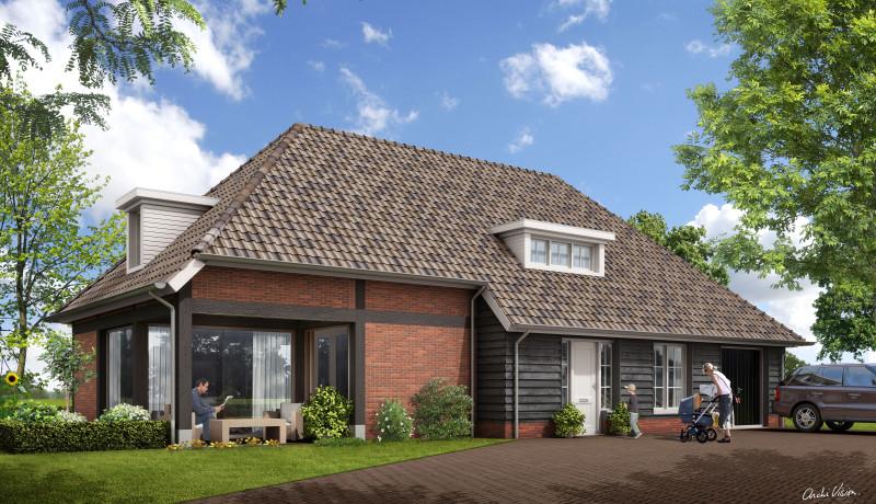 Zonnevest Exel ontwikkeling boerderij boerenerf Lemelerweg