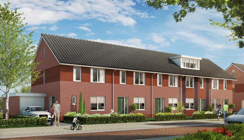 Gramsbergen rijenwoningen Garstlanden Hardenberg woningbouw starters Exel Lemele