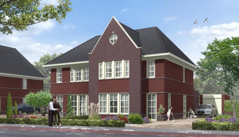 Exellent 200 variant Exel Lemele half vrijstaande woning Lemelerveld Boekwerk