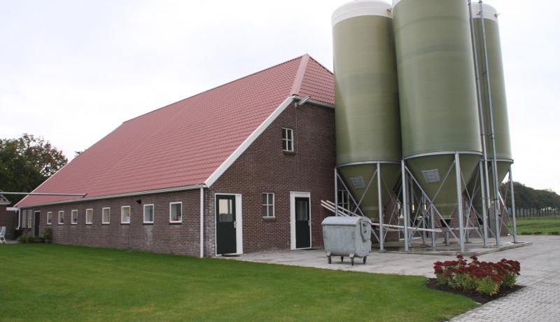 verbouw stal varkensstal vernieuwbouw renovatie Stallenbouw agrarische bouw varkenshouderij varkenstallen