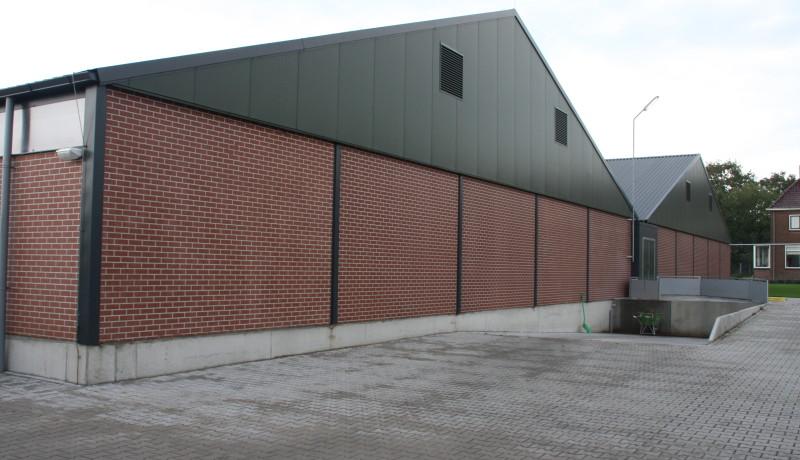 Varkensbedrijf varkenshouderij prefab betonelementen Drenthe Groningen Overijssel Gelderland