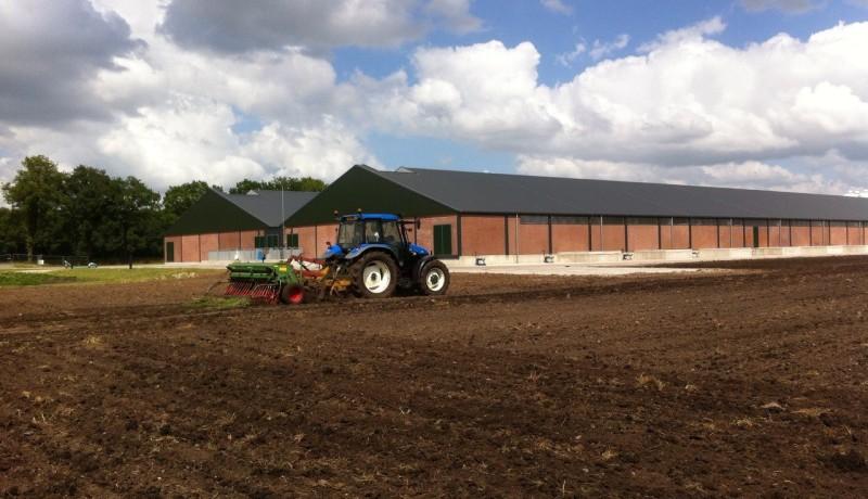 groot varkensbedrijf Drenthe Geesbrug Nieuweroord agrarische bouw Stallenbouw agrarische bouw varkenshouderij varkenstallen