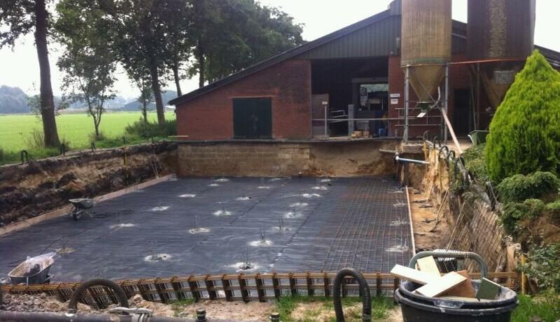 aanpassing koeienstal ligboxenstal verbouw renovatie onderhoud betonkelder kelderbouw agrarisch stallenbouw