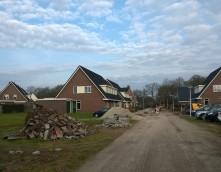 Zonnevest Exel Lemele Onder Venne Bindweg nieuwbouw project Plegt-Vos infra woonrijp straatinrichting