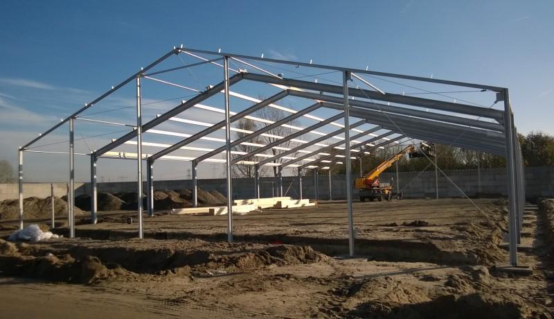 bedrijfspand bedrijfshal utiliteitsbouw hallenbouw staalbouw prefab bouw nieuwbouw