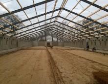 Exel Lemele Bouw Stevelink Saasveld varkensstal stallenbouw betonvloer betonwanden staalbouw zeugenstal Twente bouwbedrijf