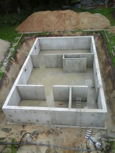 betonkelder woningbouw Exel Lemele