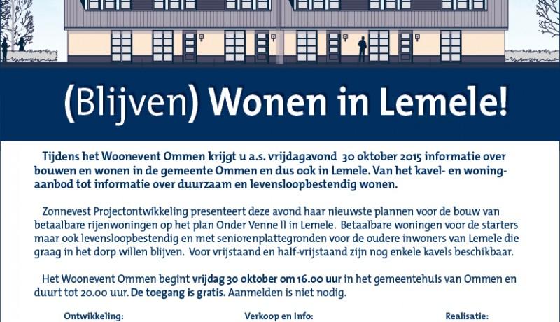 Blijven wonen in Lemele - Zonnevest Projectontwikkeling