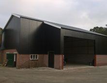 Agrarische bouw - verbouw varkensschuur tot werktuigenberging