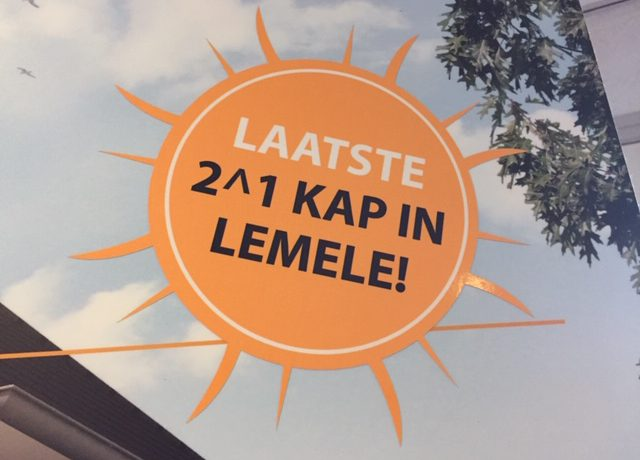 Laatste 2^1 kap Onder Venne Hellendoornseweg Lemele