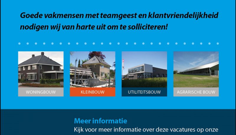 Vacature Exel Lemele Bouw timmerman