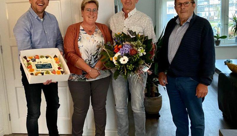 Jan Dijk 25 jaar Exel Lemele Bouw